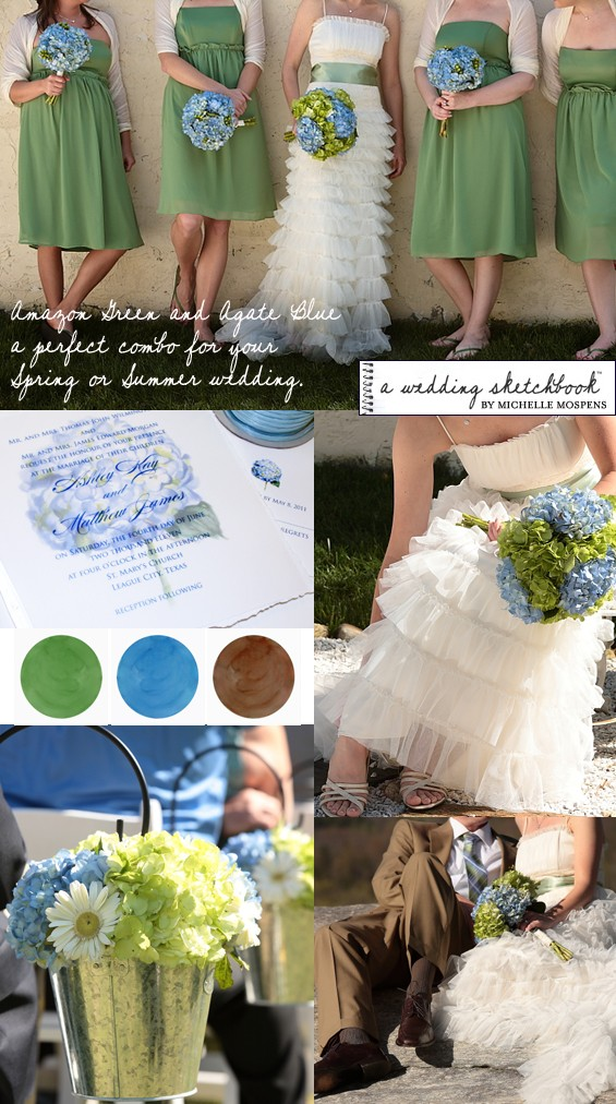 Remember all of your wedding colors do