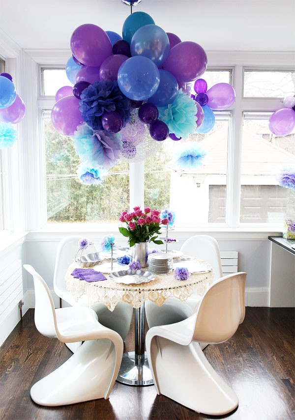 fun purple party decorating ideas Pretty Purple Party Decorating Ideas
