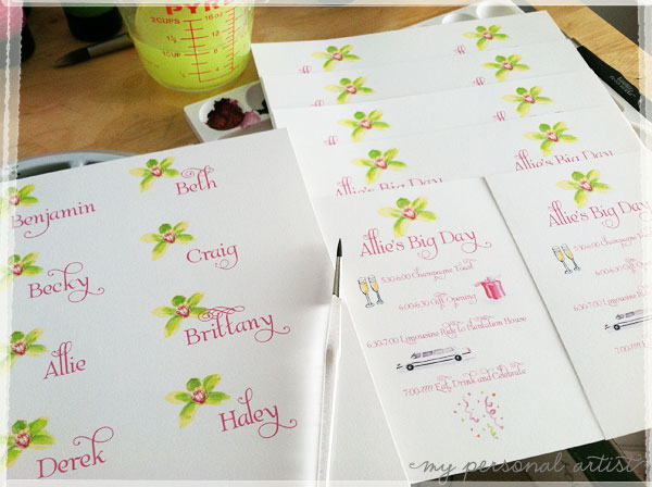 sweet sixteen party cards