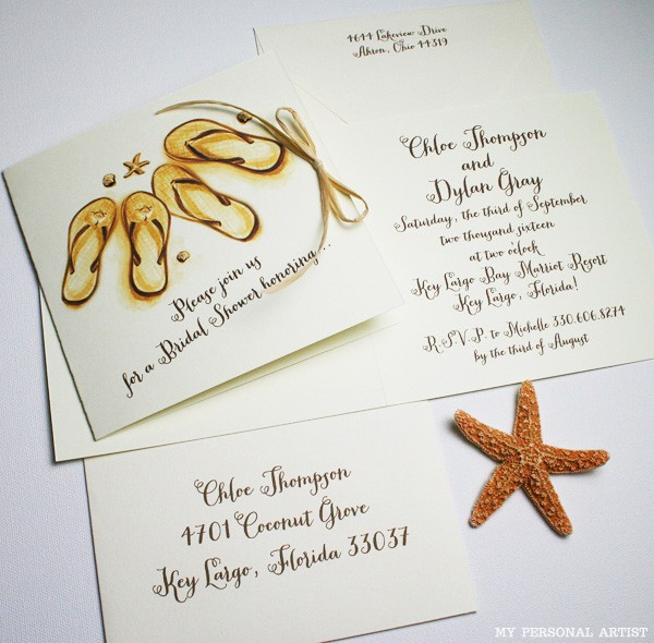 beach themed wedding shower invitations  wedding photography website, invitation samples