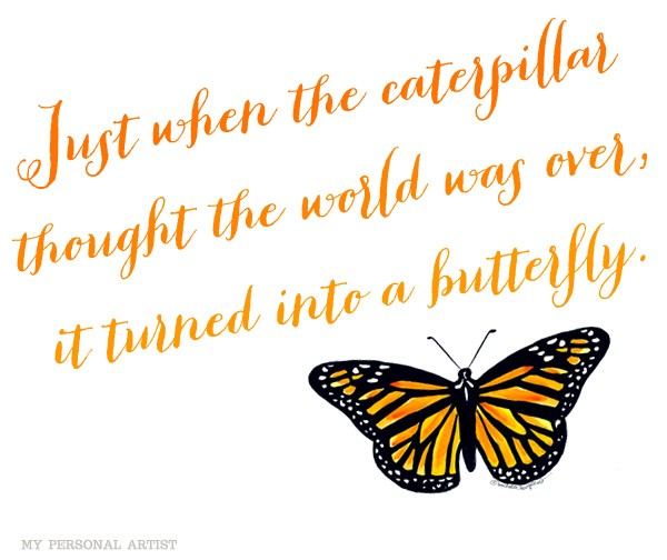 Butterfly And Hope Quotes QuotesGram